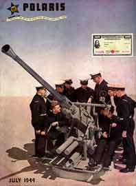 Cadet-Midshipmen receiving gunnery instruction