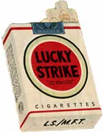 lucky strike cigarette