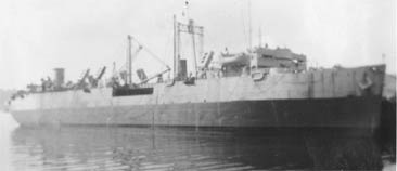 SS Seatrain Texas after repairs