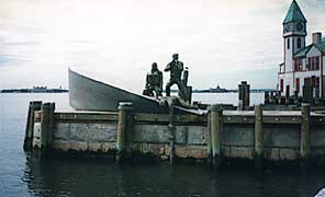 Merchant marine Monument at Battery Park NY City