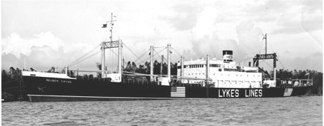 Photo of C1-B type ship