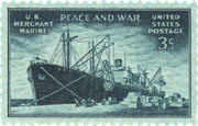 1946 merchant marine 3 cent stamp