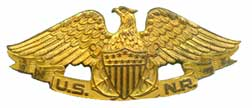 United States Naval Reserve insignia