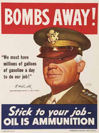 Bombs Away! Stick to Your Job poster Hap Arnold