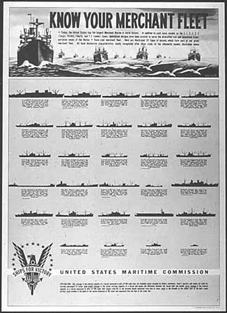 Know your merchant fleet poster