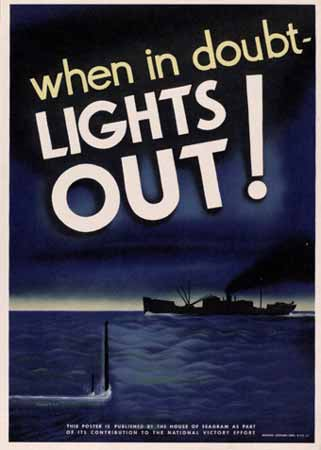When in doubt -- lights out! poster