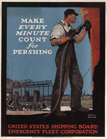 Make every minute count for Pershing poster
