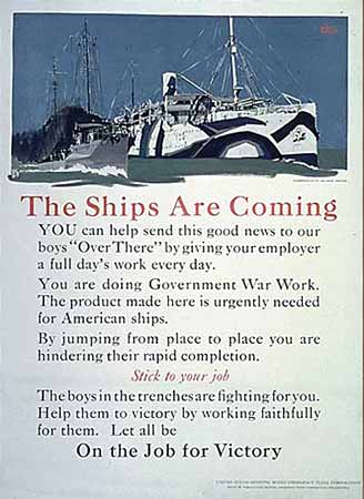 The Ships Are Coming poster