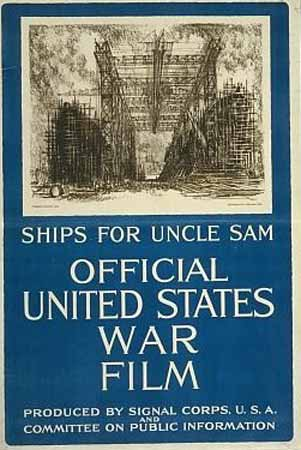 Ships for Uncle Sam poster